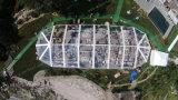 [15إكس45م] مثمّن حزب عرس خيمة مع شفّافة سقف وحائط جانبيّ