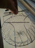 小型ワイヤーはバスケットを揚げるバスケットのフライドポテトのバスケットの金網を揚げる