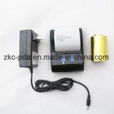 Mini impresora térmica móvil portable de WiFi Bluetooth del código de barras (ZKC5805)