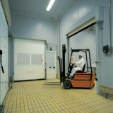 Le PVC automatique enroulent la porte d'obturateur (HF-297)