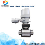 Entrée latérale 3PC Spilit Body Trunnion Ball Valve