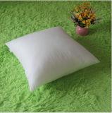 안을%s 정연한 백색 폴리에스테 직물 장식적인 베개