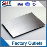 La meilleure feuille d'acier inoxydable du rabot AISI 304L de vente