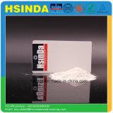 Capa semi mate respetuosa del medio ambiente del polvo del blanco de Ral 9016 de la textura del lustre del colmo