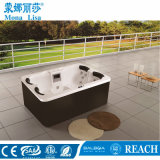 2,1 Metros Nuvem Branco Acrylic Outdoor Rectangle Hot Tubs M-3332