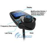 2017エムピー・スリー無線無線車FMの送信機を満たす新しく最もよいBluetoothの補助の変調器USB