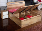 최신 도매 식탁 고대 호화스러운 나무로 되는 거실 가구 세트 (HX-LS006)