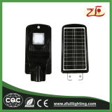 luz solar Integrated ao ar livre do jardim do diodo emissor de luz da luz de rua 20W