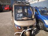 Triciclo de pasajeros de 125cc 150cc con radio y calentador