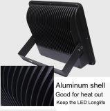 las luces de inundación de 50W 100W 150W 200W 250W 300W 400W 500W 600W LED se calientan/la iluminación de inundación al aire libre del blanco LED del brillo frío del reflector