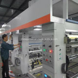 Impresora de velocidad mediana del rotograbado de 8 colores en 110m/Min
