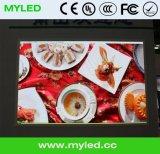 Kleiner Pixel-Abstand 3mm HD farbenreicher LED-Innenbildschirm SMD P2, P2.5, P3, P4, P5, P6, P7.62, P8, P10 Druckguss-Aluminium-Schrank