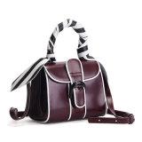 Bolsas do ombro da forma do couro genuíno das mulheres dos sacos de mão da forma do Mk