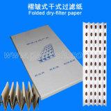 Papel de filtro de panal plisado Andreae de aire para la cabina de pintura en aerosol