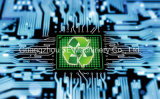 Ligne de recyclage du Conseil des PCB pour Weee avec Ce