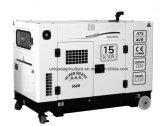 gerador 15kVA Diesel silencioso portátil para o uso Home