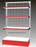 Fábrica multifunción del soporte de exhibición del piso del alambre del metal para el supermercado