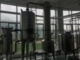 Evaporatore con pellicola discendente per elaborare collageno