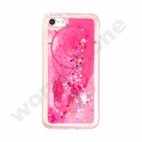 Glitter movente de Bling das estrelas do Quicksand fresco que flutua o argumento dinâmico para o iPhone 6s mais