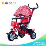 Bicicleta do carrinho de criança de bebê da matriz, triciclo por atacado do bebê