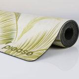 Stuoia lavabile antiscorrimento di yoga dell'albero di yoga della stuoia della pelle scamosciata della stuoia di gomma naturale di yoga
