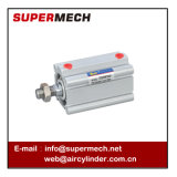 Modello pneumatico del cilindro SMC dell'aria del pistone del compatto di serie di Cq2a
