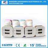 Заряжатель автомобиля Micro двойного порта 2.4A/USB iPhone