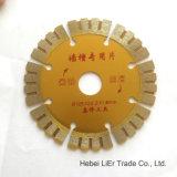Lámina dividida en segmentos superior de fines generales del diamante de 4 pulgadas