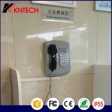 Téléphone public de service bancaire du téléphone Knzd-04 Kntech d'aide