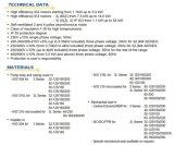 Centrifugaal Pomp in AISI 304-AISI 316