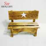 Fünf-Spitze Stern-Förderung-preiswerter hölzerner Arm-Stuhl