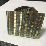 고품질을%s 가진 브라운 주문을 받아서 만들어진 박판으로 만들어진 유리 박판으로 만들어진