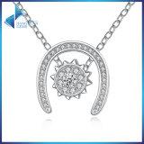 Forma nova para as jóias de bronze Chain da colar do ouro branco de Wowen