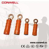 Conwell Verkäufer-Fabrik Vor-Isolierte Terminal-quetschverbindenring-bimetallische Kabel-Ösen