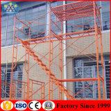 Uno mismo que sube el sistema del andamio del marco de X (fábrica en Foshan desde 1999)