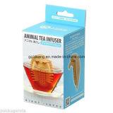 ケイ素の動物の茶Infusersの茶漉し巨大なIsopod 5.3X8.5X4.3cm
