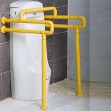 ABS de Nylon muur-Vloer Opgezette Staven van de Greep van de Handicap voor Urinoir