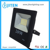 Iluminación al aire libre ultra fina IP65 de la luz del reflector/de inundación del LED