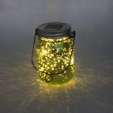 Garden Use Decorative Firefly LED Fairy Glass Jar Light