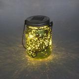 حد إستعمال يراعة زخرفيّة [لد] ساحر زجاجيّة مرطبان ضوء