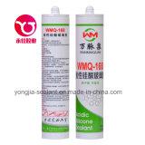 Vedador acético adesivo do silicone da porta de vidro (WMQ-168)