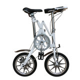 Velocità della bici della lega di alluminio dei freni a disco della gomma pneumatica singola