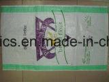 밥 가루 설탕의 25kg 50kg PP에 의하여 길쌈되는 비닐 봉투