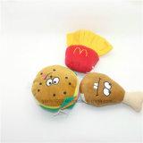 Venta al por mayor Kfc hamburguesa Chips Drumstick perro de juguete