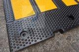 トラフィックの道の取り外し可能なゴム製道のこぶ、ゴム製速度のこぶ