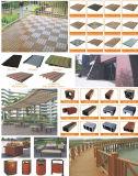 Decking esterno WPC/pavimentazione composita di plastica di legno ingegneria/di Decking