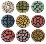 Пусковая площадка пола скрепления смолаы диаманта полируя для бетона