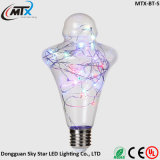 Da lâmpada ao ar livre da corda de Dimmable luz estrelado da corda do globo do diodo emissor de luz mini