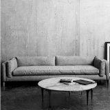 وقت فراغ حديثة صغيرة يعيش غرفة بناء أريكة