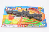 Het Ontspruiten van de Bel van de bevordering het Grappige die Kanon van het Stuk speelgoed voor Jongens en Meisjes wordt geplaatst